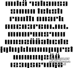 Anark fontti