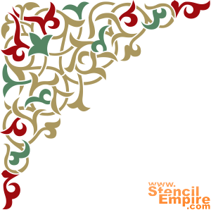 Угол арабеска 1