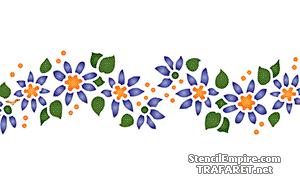 Бордюр из полевых цветов 040б