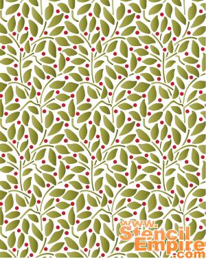 Листья и ягоды: обои