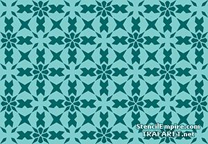 Трафарет Марокканская мозаика 09