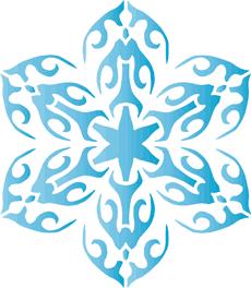 Снежинка XV
