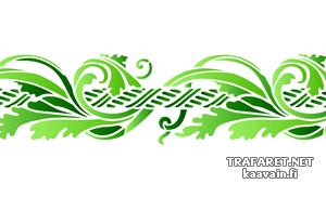 Шнур и листья