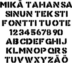 Tuote fontti