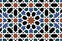 Трафарет Альгамбра 07б