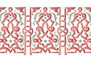 Бордюр арабеска 26
