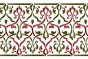 Бордюр арабеска 28