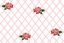 Трафарет Сетка с розами