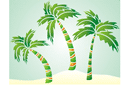 Три пальмы