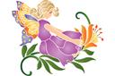 Фея на лилии