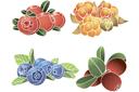 Трафареты Лесная ягода