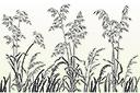 Овес и трава