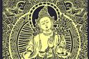 Трафарет Большой Будда