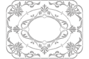 Рамка из цветов 2