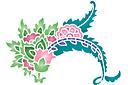 Цветочный пейсли А