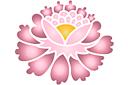 Китайский цветок 6