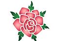 Цветок розы 1А