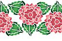Цветок махровой розы 2В