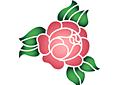Примитивная роза 1А.