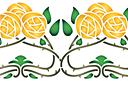 Желтые розы ар нуо В