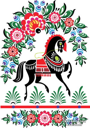 Городецкий конь 1