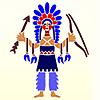 Intiaanit sablonit