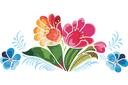 Жостовские цветы 5